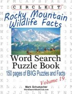 Circle It, Rocky Mountain Wildlife Facts, Word Search, Puzzle Book