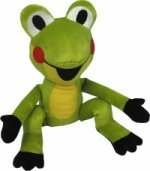 Žabka 20cm sedící (Krtek a kamarádi)