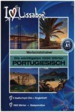 Die wichtigsten 1000 Wörter Portugiesisch, 2 Audio/mp3-CDs + Begleitheft