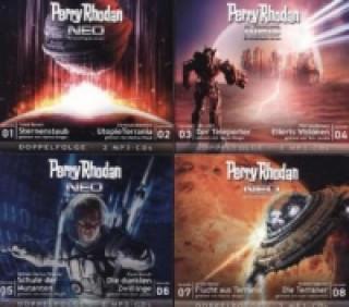 Perry Rhodan NEO. Folge.1-8, 8 MP3-CDs