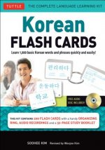 Korean Flash Cards Kit