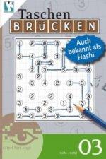 Brücken-Rätselbuch, Auch bekannt als Hashi. Bd.3