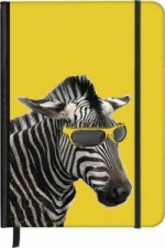 SoftTouch Notebook Cool Zebra 16 x 22 cm