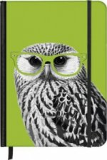 SoftTouch Notebook Nerdy Owl 9 x 14 cm