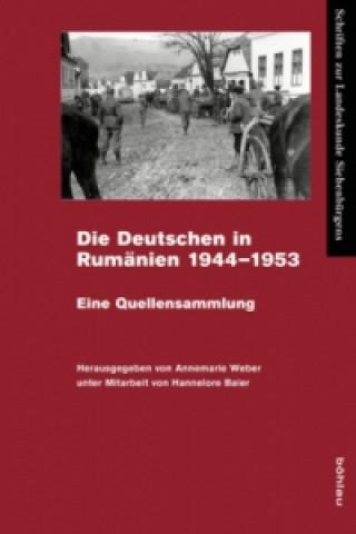 Die Deutschen in Rumänien 1944-1953