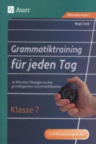 Grammatiktraining für jeden Tag, Klasse 7