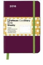 Cool Diary Berry/Stars Orange 2016, WEEKLY 9x14