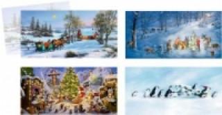 Mini-Adventskalender Fröhliche Weihnachtszeit