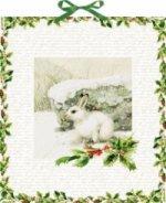 Wandkalender Marjoleins Schneehase