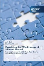 Examining the Effectiveness of a Parent Manual