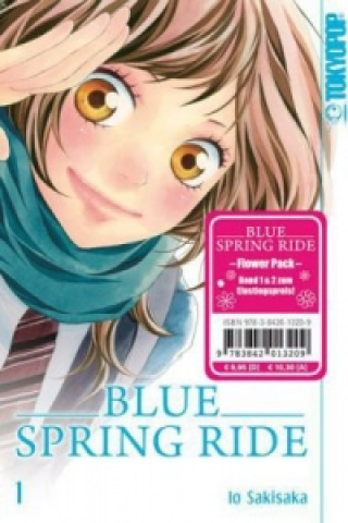 Blue Spring Ride Flower Pack, 2 Bde.