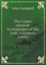 The Coptic element in languages of the Indo-European family