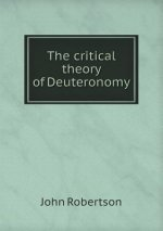 Critical Theory of Deuteronomy