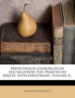Medicinisch-Chirurgische Encyklopädie, Supplementband, 1863