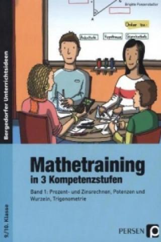 Mathetraining in 3 Kompetenzstufen - 9./10. Klasse. Bd.1