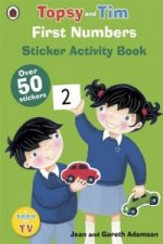 First Numbers: A Ladybird Topsy and Tim Sticker Book