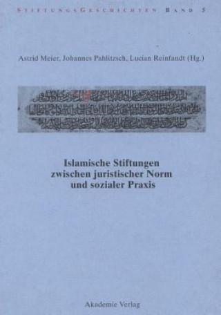 Islamische Stiftungen zwischen juristischer Norm und sozialer Praxis