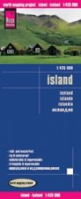 World Mapping Project Reise Know-How Landkarte Island. Iceland. Islande. Islandia