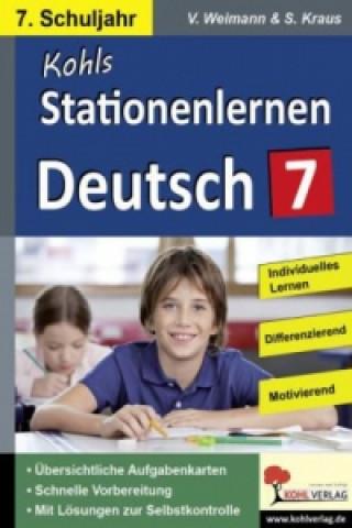 Stationenlernen Deutsch, 7. Schuljahr