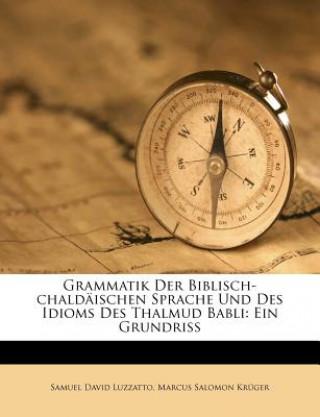 Grammatik der biblisch-chaldäischen Sprache und des Idioms des Thalmud Babli: Ein Grundriss von Samuel David Luzzatto.
