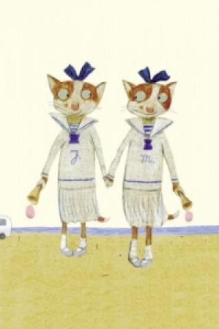 Zwillinge, 10 Postkarten