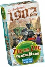 Zug um Zug, Deutschland 1902 (Spiel-Zubehör)