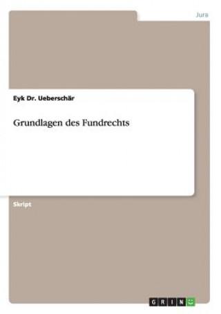 Grundlagen Des Fundrechts