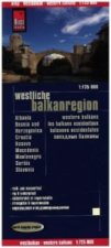 World Mapping Project Reise Know-How Landkarte Westliche Balkanregion. Western Balkans. Les Balkans occidentaux. Balcanes occidentales