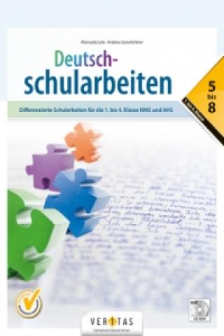 Deutsch-Schularbeiten, m. CD-ROM