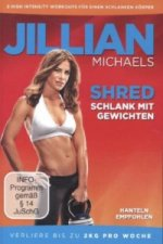 Jillian Michaels - Shred - Schlank mit Gewichten, 1 DVD