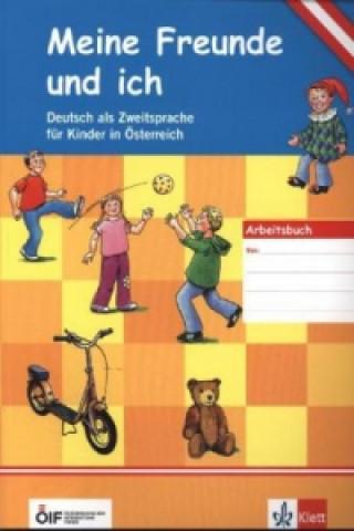 Arbeitsbuch für Kinder u. Stickern