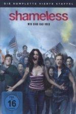 Shameless. Staffel.4, 4 DVDs