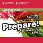 Cambridge English Prepare! Level 5 Class Audio CDs (2)
