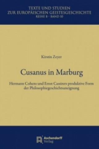 Cusanus in Marburg