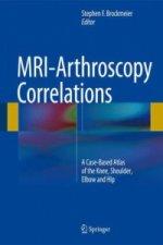 MRI-Arthroscopy Correlations