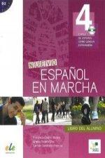 Nuevo Espanol en Marcha 4: Student Book with CD