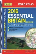 Philip's Essential Road Atlas Britain and Ireland 2016