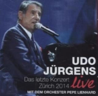 Das letzte Konzert - Zürich 2014 live, 2 Audio-CDs