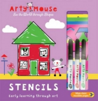 Arty Mouse - Stencils