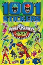 Power Rangers 1001 Stickers