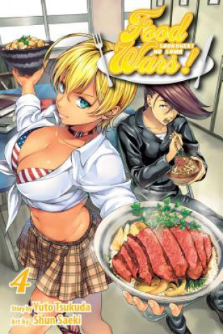 Food Wars!: Shokugeki no Soma, Vol. 4