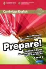 Cambridge English Prepare! Level 5 Teacher's Book with DVD a