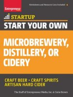 Start Your Own Micro Brewery, Distillery, or Cidery