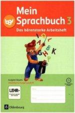 3. Jahrgangsstufe, Das bärenstarke Arbeitsheft in Vereinfachter Ausgangsschrift mit CD-ROM