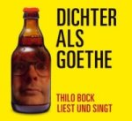 Dichter als Goethe, 1 Audio-CD