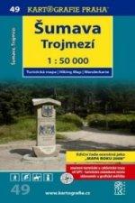 Šumava-Trojmezí 1:50 000