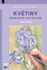 Naučte se kreslit malovat Květiny barevnými paslekami