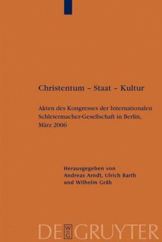 Christentum - Staat - Kultur