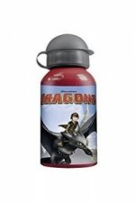 Dragons, Aluflasche mit Open-Close Verschluss