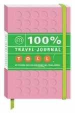 100% Travel Journal pink